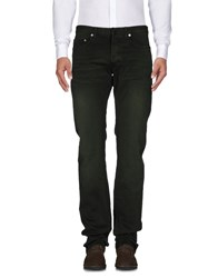 Christian Dior Homme Casual Pants Dark Green