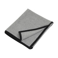 Oyuna Arte Throw Grey With Charcoal