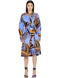 Emilio Pucci Printed Cotton Poplin Dress