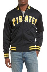 Mitchell And Ness Men's Authentic Bp Pittsburgh Pirates Baseball Jacket