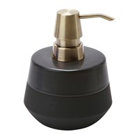 Aquanova Opaco Soap Dispenser Black