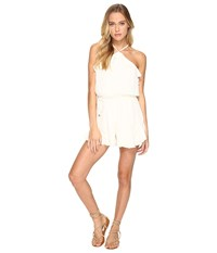 Lovers Friends Jolie Romper Ivory Women's Jumpsuit And Rompers One Piece White