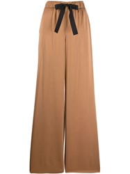 Boutique Moschino Palazzo Pants Brown