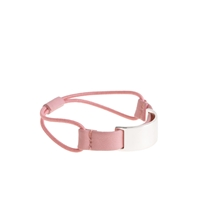 J.Crew Elastic Metal Hair Tie Dusty Blossom