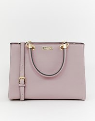 Carvela Structured Tote Bag Pink Comb