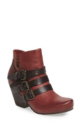 Otbt Women's 'Lasso' Bootie Red Oak Leather