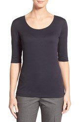 Women's Boss Scoop Neck Stretch Jersey Top