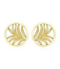 Theo Fennell Small Palm Diamond Disc Earrings Female