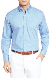 Peter Millar Men's Crown Soft Gingham Regular Fit Sport Shirt