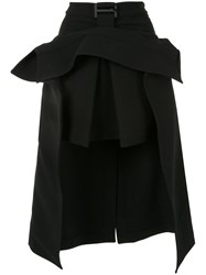 Dion Lee Suspended Trench Skirt Black