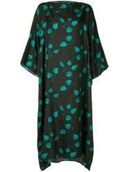 Sofie D'hoore Printed Flower Dress Black
