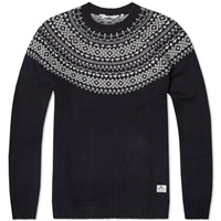 Penfield Freeman Crew Neck Knit Navy