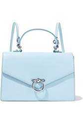 Rebecca Minkoff Woman Jean Convertible Pebbled Leather Backpack Sky Blue