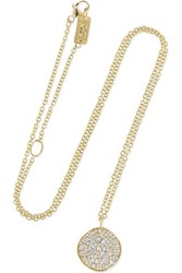 Ippolita Stardust 18 Karat Gold Diamond Necklace One Size