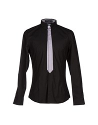 Frankie Morello Shirts Shirts Men Black