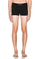 Comme Des Garcons Shirt Underwear Boxer Briefs In Black