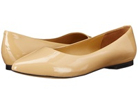 Trotters Estee Nude Soft Patent Leather Women's Slip On Dress Shoes Beige