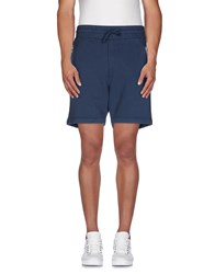Vivienne Westwood Trousers Bermuda Shorts Men Slate Blue