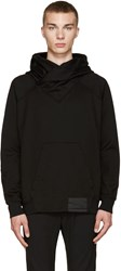 Julius Black French Terry Hoodie