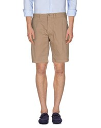 Uniform Trousers Bermuda Shorts Men Sand