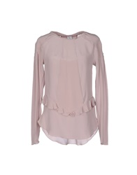 Uniqueness Blouses Dove Grey