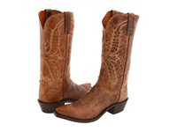 Lucchese N1547 5 4 Tan Mad Dog Goat Cowboy Boots