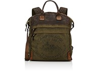 Campomaggi Men's Convertible Backpack Dark Green