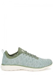 Athletic Propulsion Labs Techloom Phantom Mint Knitted Trainers Green