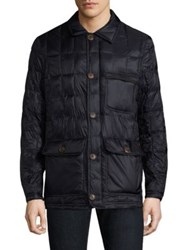 Rainforest Heat Puffer Walking Coat Midnight