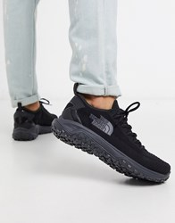 The North Face Truxel Sneaker In Black