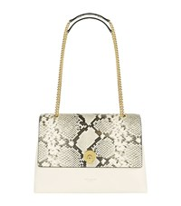 Ted Baker Marlow Faux Snake Shoulder Bag Female Grey
