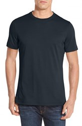 Robert Barakett Men's 'Georgia' Crewneck T Shirt Midnight