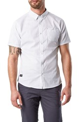 7 Diamonds Suavecito Slim Fit Sport Shirt White