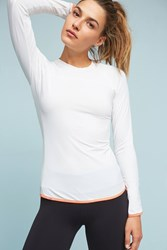 Anthropologie L'etoile Sport Long Sleeved Shirt White