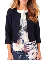 Phase Eight Three Quarter Sleeve Jacket Navy