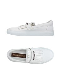 Cesare Paciotti Footwear Low Tops And Sneakers Light Grey