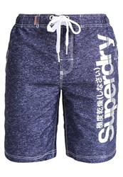 Superdry Swimming Shorts Enzyme Blue Grit