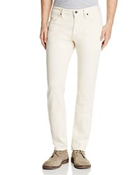 John Varvatos Star Usa Bowery Straight Fit Jeans In Tan 100 Bloomingdale's Exclusive
