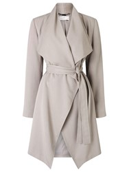 Jacques Vert Waterfall Coat Mid Brown