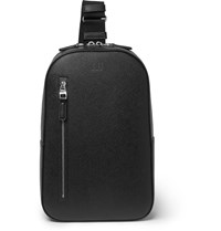 Dunhill Cadogan Full Grain Leather Backpack Black