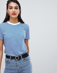 Selected Femme Stripe T Shirt Multi