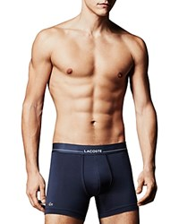 Lacoste Stretch Tencel Boxer Briefs Navy