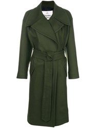 Vivienne Westwood Belted Trench Coat Green