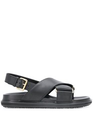 Marni Cross Strap Sandals 60