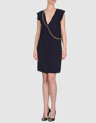 Soho De Luxe Short Dresses Dark Blue