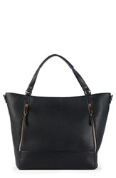 Sole Society Nera Faux Leather Tote Black