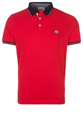 Schott Nyc Psharbours Polo Shirt Red
