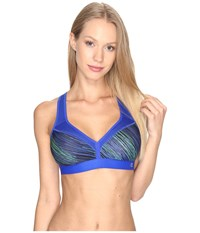 Champion Curvy Bra String Theory Flight Blue Women's Bra