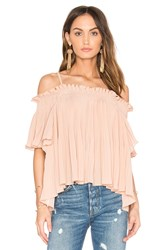 Endless Rose Off The Shoulder Top Blush