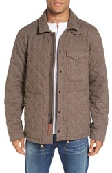 Relwen Men's Quilted Field Jacket